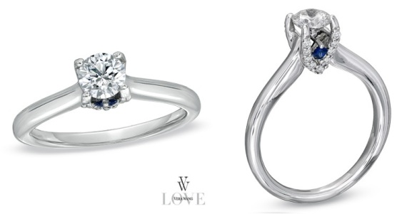 Engagement Ring Bling Vera Wang S Love Collection
